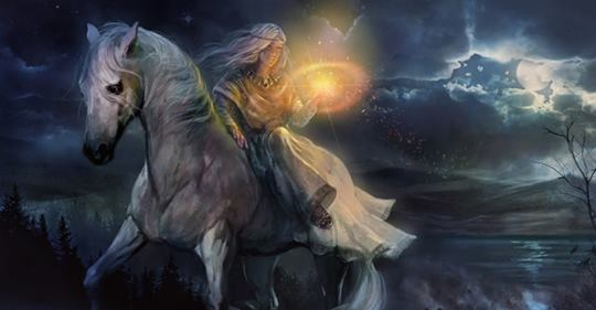 Kelta istenek és istennők – Rhiannon